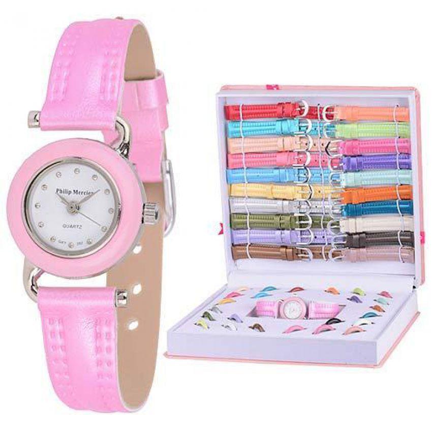 21 In 1 Colors Interchangeable Ladies Watch Set in Pakistan