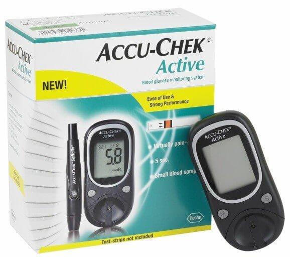 Accu Chek Active Glucometer In Pakistan Getnow Pk