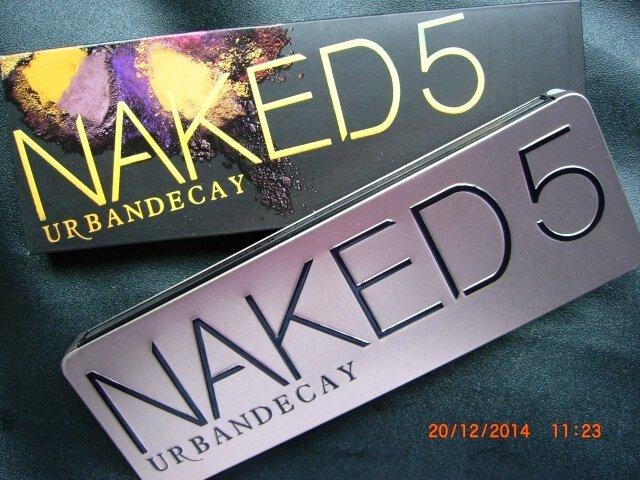 Urban Decay Naked 5 Eyeshadows