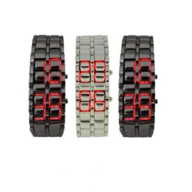 Pack of 3 Lava LED Watches pakistan