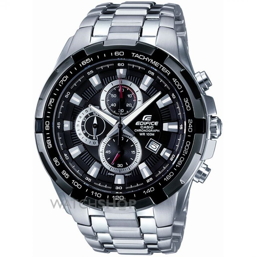 how to change date in casio edifice chronograph