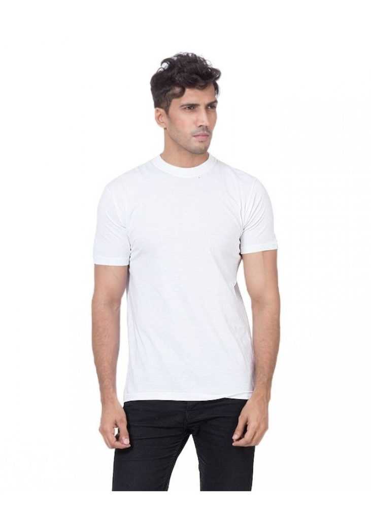 Pack of 5 Plain Round Neck T-Shirts