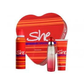 She Perfume & Body Spray Gift Set for Women In Pakistan