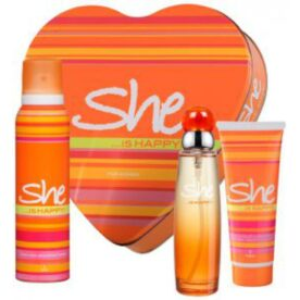 She Perfume & Body Spray Gift Set for Men