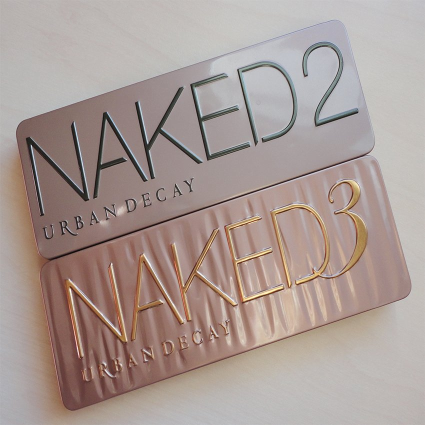 Pack of Urban Decay Naked 2 & 3 Eyeshadows In Pakistan