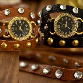 Long leather strap watch pakistan