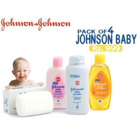 Pack of 4 Johnson's Baby Products in Pakistan