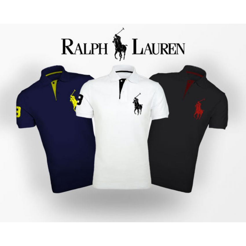Buy Pack of 3 Branded Ralph Lauren T-shirts in Pakistan ...