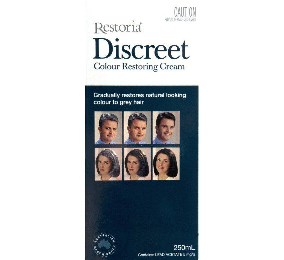 Buy Discreet Color Restoring Hair Cream In Pakistan  GetNowpk