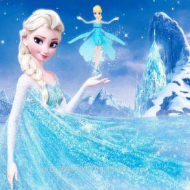 Frozen Flying Doll in Pakistan