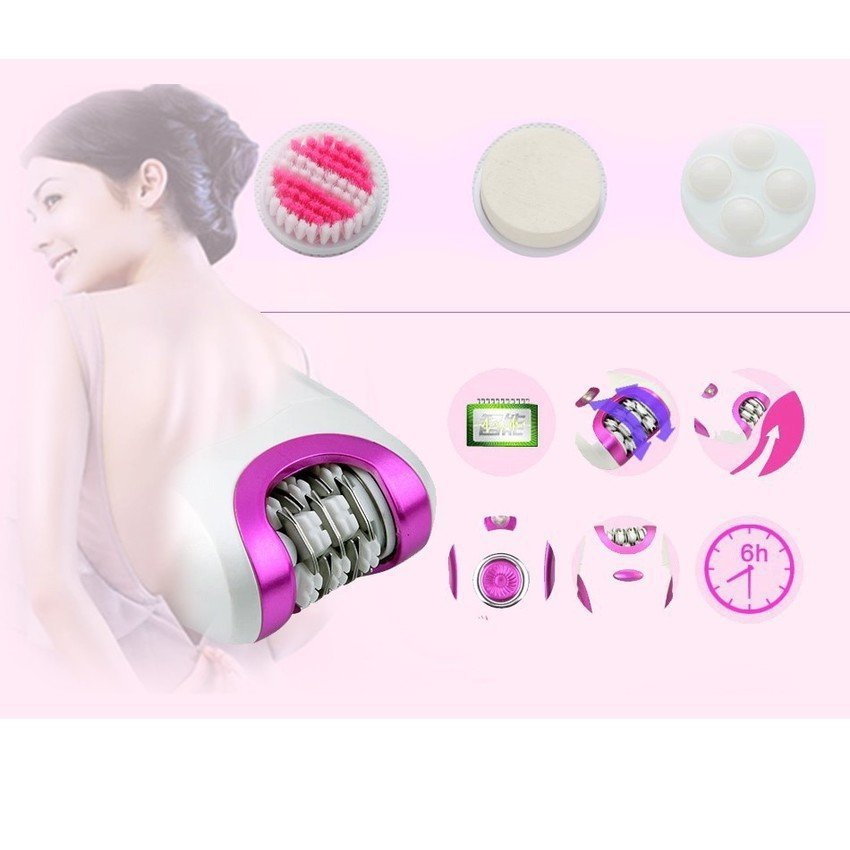 Kemei 6 in 1 Beauty Care Massager