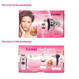 kemei 6 in 1 beauty care massager in Pakistan