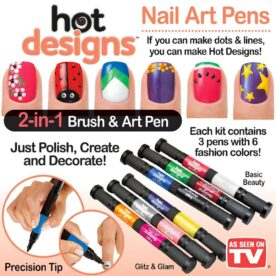 Pack of 12 nail art pens in Pakistan