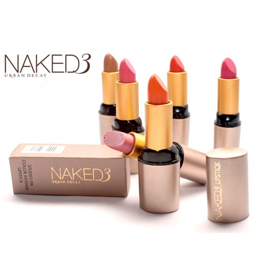 Pack Of 6 Naked 3 Lipsticks in Pakistan