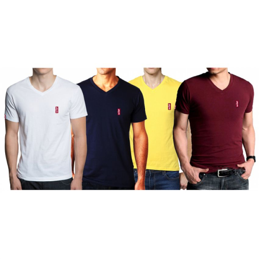e9b69fb8 Buy Pack of 4 Levi's T-shirts Online in Pakistan   GetNow.pk