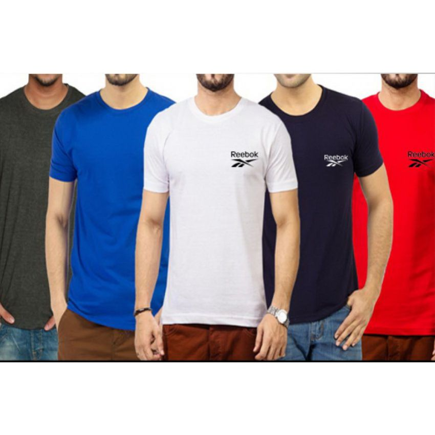 Pack Of 5 Reebok T-shirts in Pakistan