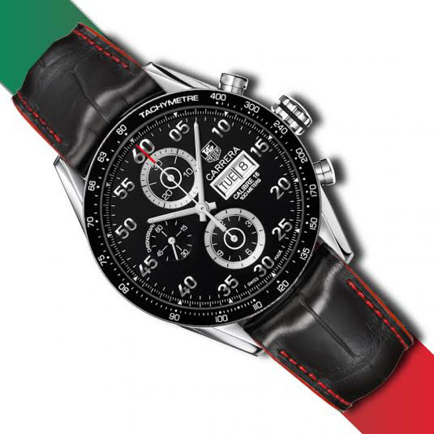 3b01ade676ab7 tag heuer carrera in pakistan. Tag Heuer Carrera with Leather Strap ...