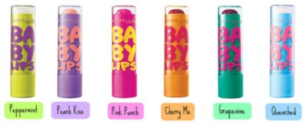 Pack of 6 Maybelline Baby Lip Balms in Pakistan