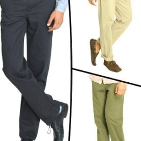 Pack of 3 Casual Trousers In Pakistan