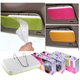 Car Sun Visor Tissue Box Holder In Pakistan