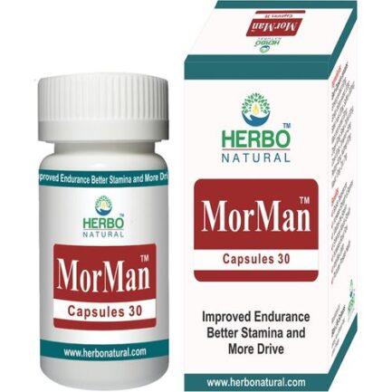 Herbo Natural MorMan 30 Capsules in Pakistan