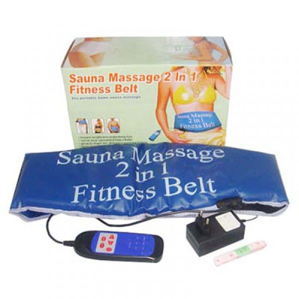 Sauna Massage 2 in 1 Fitness Belt In Pakistan