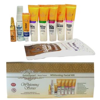 Golden Pearl Whitening Facial Kit