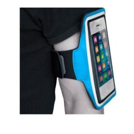 Arm Phone Holder Pouch Blue In Pakistan