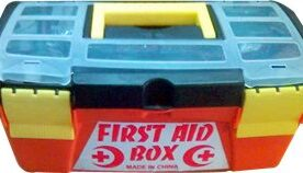 First Aid Box With Complete Accessories in Pakistan