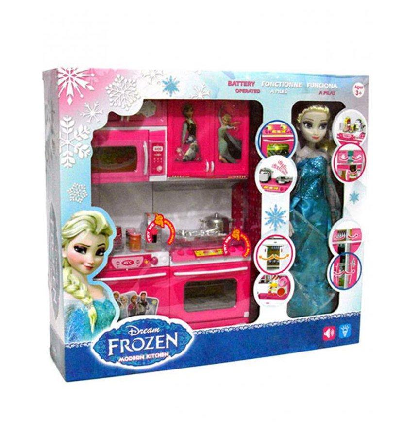 Buy Wondermatics Frozen Kitchen Set In Pakistan Getnow Pk