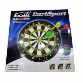 "18"" Plastic Magnetic Dart Game"
