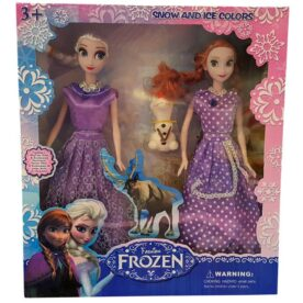 Kids Fashion & Toys Anna & Elsa - Frozen Doll 2 in 1 Pack