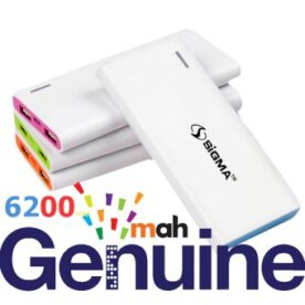 Original Sigma 6200Mah Power Bank in Pakistan