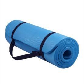 Fitness Club Yoga 15 MM Mat - Blue