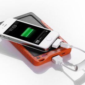 Power ADD 7200mAh with Solar Panel Power Bank