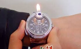 Practical Novelty Lighter Wrist Watch in Pakistan