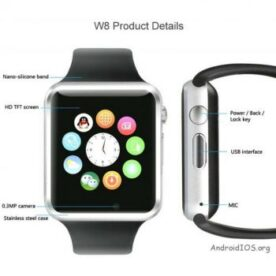 Smart GSM Android IOS Mobile Watch