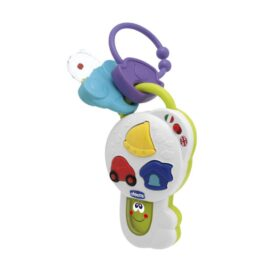 Toy World CH00995 Chicco Talking Key Musical Toys - Multicolor