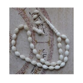 Handcarved Camel Bone Prayer Beads Tasbih in Pakistan