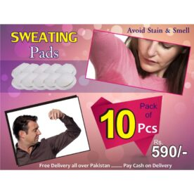 Disposible Under Arms Sweat Pads In Pakistan