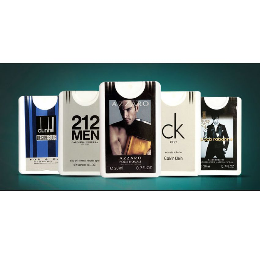 Pack of 4 Pocket Perfumes for Men In Paksitan