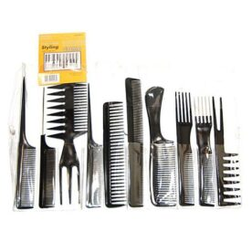 Magic 10 Piece Professional Styling Comb Set in Pakistan