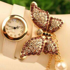 Butterfly Bracelet Watch for Girls - Stylish Watch in Pakistan