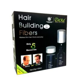 Dexe Hair Building Fiber + Hair Locking Spray in Pakistan