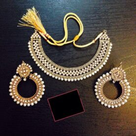 Antique Indian Jewelry Set