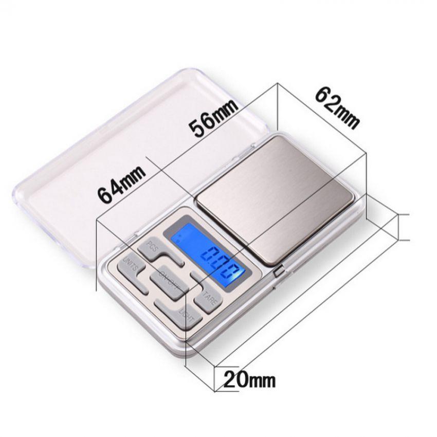 Electronic LCD Display Scale Mini Pocket Digital Scale 200g In Pakistan