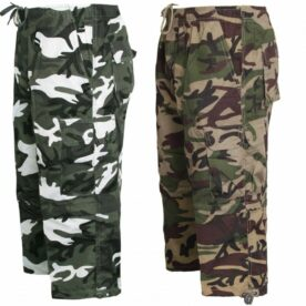 Pack of 2 Army Shorts for Him
