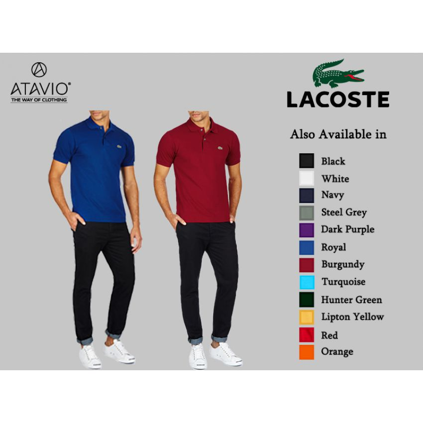 43bce295d04 Buy Pack of 2 Lacoste Polo Shirts in Pakistan at Best Prices