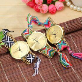 Pack Of 3 Geneva Rangoli Ladies Watches