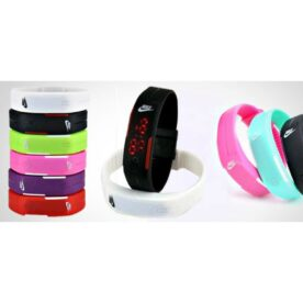 Pack Of 3 Nike LED Watches